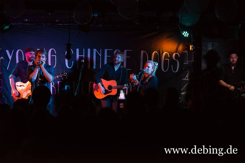 Konzertbericht: Young Chinese Dogs
