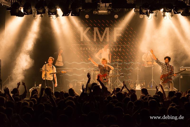 Konzertbericht: Kakkmaddafakka