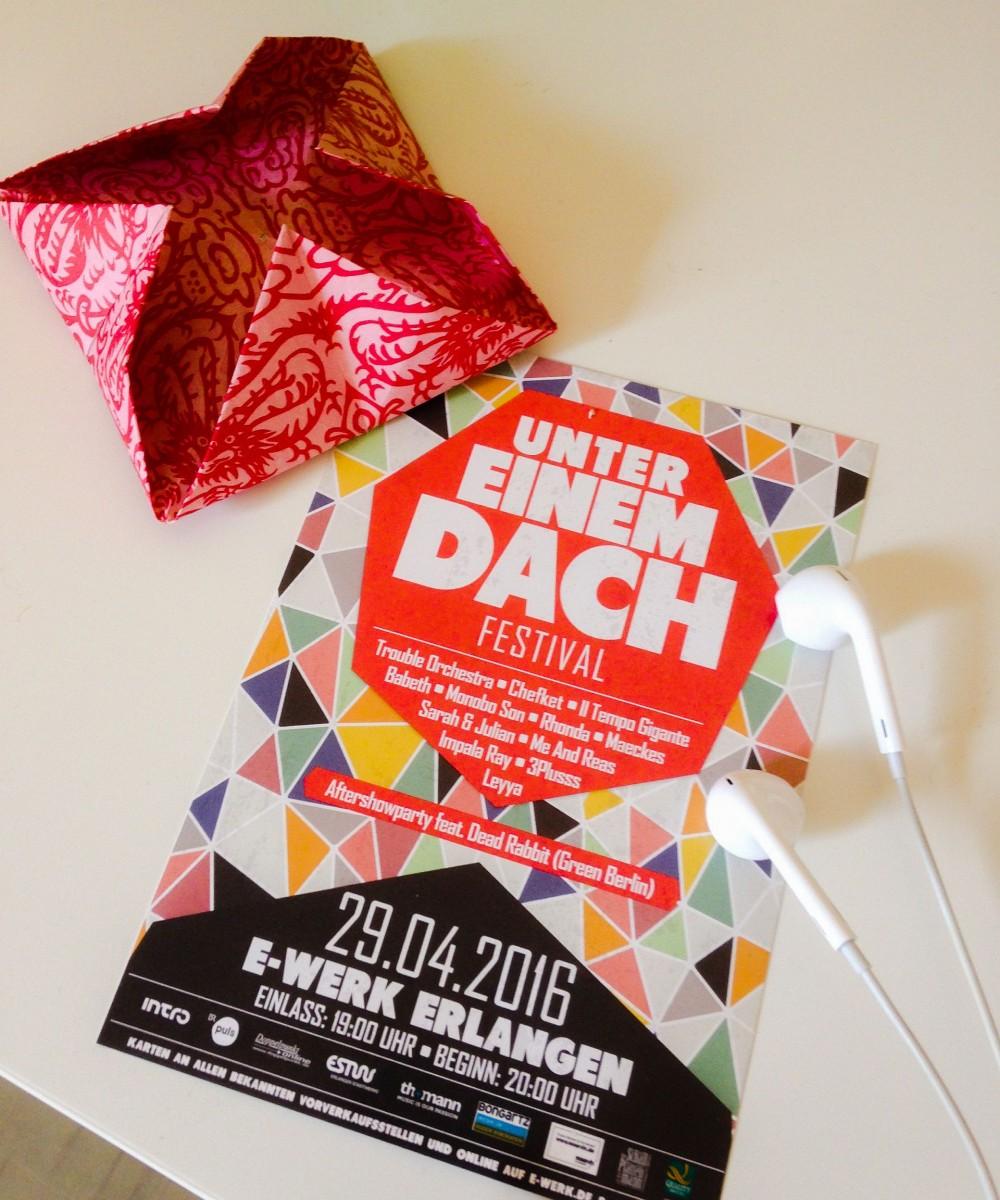 Verlosung: 1×2 Tickets fürs Unter einem Dach Festival