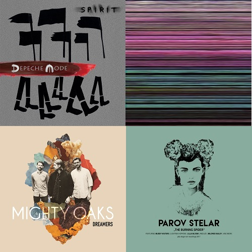 4 auf einen Streich: Depeche Mode, Joe Goddard, Mighty Oaks, Parov Stelar
