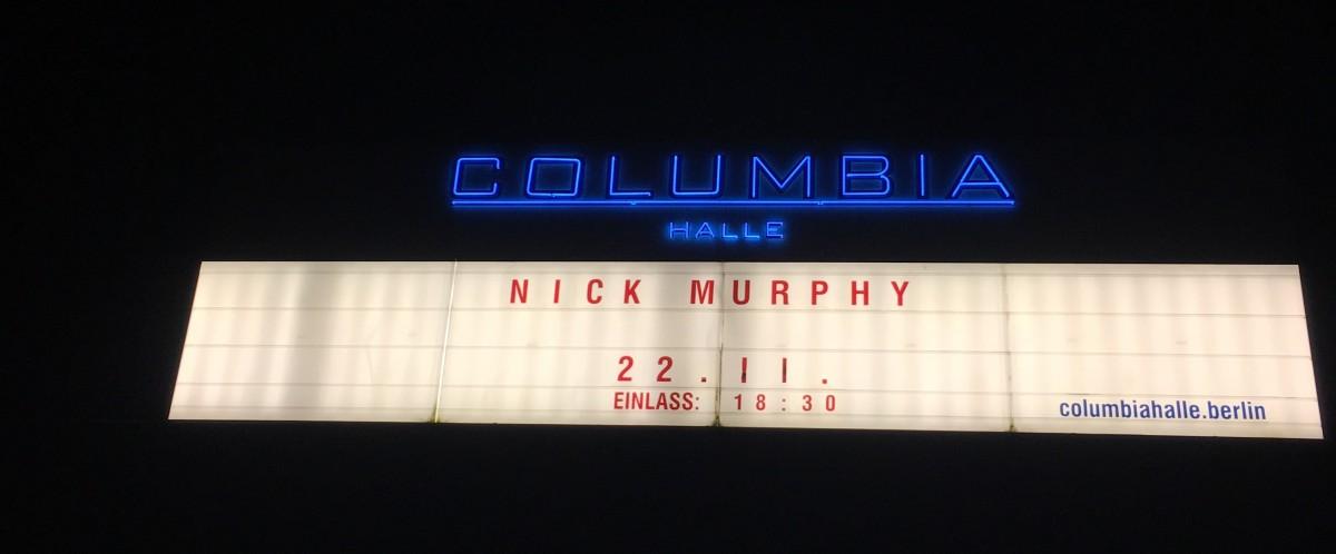 Konzertbericht: Nick Murphy in der Columbiahalle