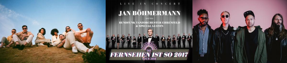 Meine Woche mit Jungle, Jan Böhmermann und dem Rundfunktanzorchester Ehrenfeld und Unknown Mortal Orchestra
